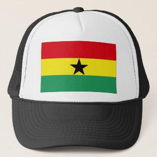 Ghana flagga truckerkeps