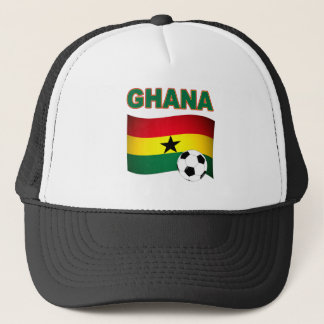 Ghana fotboll 1508 truckerkeps