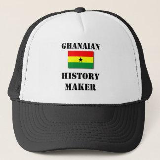 Ghanansk historietillverkaretruckerkeps keps