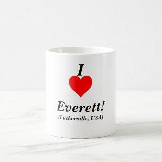 giant_red_heart I, Everett! , (Fuckerville, USA) Kaffemugg