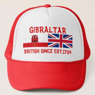 Gibraltar britt efter hatten för lastbilsförare truckerkeps