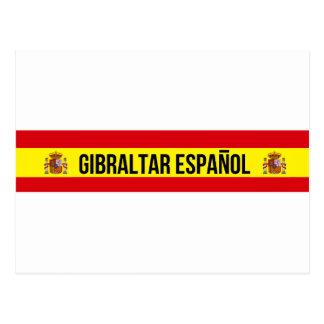 Gibraltar Español - spanska Gibraltar Vykort
