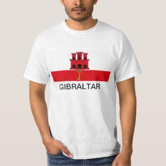 Gibraltar flaggaT-tröja T-shirt