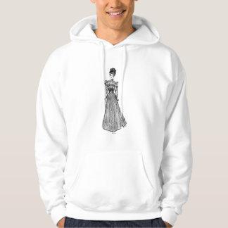 Gibson flicka, 1899 sweatshirt med luva