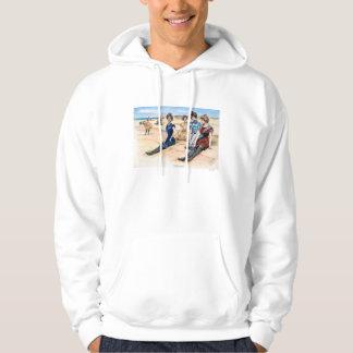 Gibson flickor på stranden, 1900 hoodie
