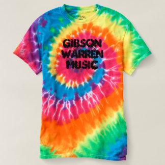 Gibson Warren musikTie-Färg utslagsplats Tröjor