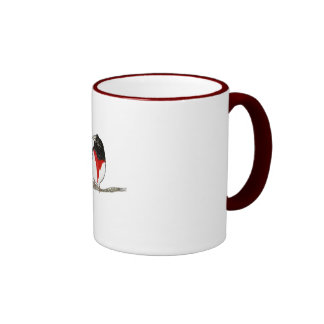 Gick mot Grossbeak Kaffe Muggar