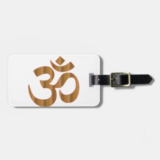 Gif för Hinduism för ramsa för meditation för Bag Tags