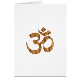 Gif för Hinduism för ramsa för meditation för Hälsningskort