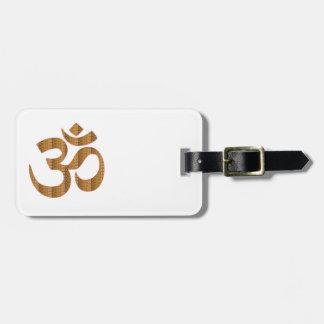 Gif för Hinduism för ramsa för meditation för Luggage Tags