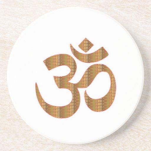 Gif för Hinduism för ramsa för meditation för MANT Underlägg För Glas