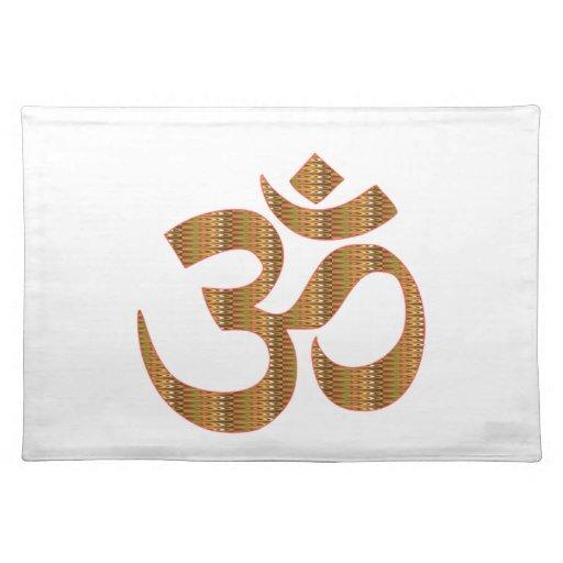 Gif för Hinduism för ramsa för meditation för MANT Bords Underlägg