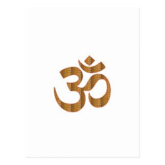 Gif för Hinduism för ramsa för meditation för Vykort