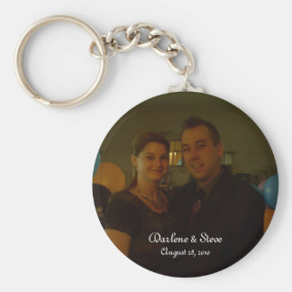 Gifta sig * Enagement * Keychains Rund Nyckelring
