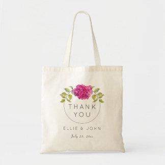 Gifta sig favörshock rosavanlig hortensia tygkasse