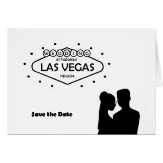 GIFTA SIG i den Las Vegas sparan datera B G-kort