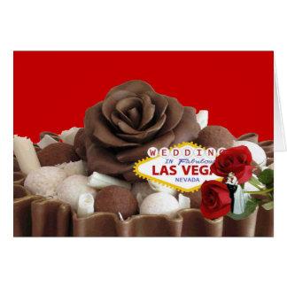 Gifta sig i den sagolika Las Vegas bruden & Hälsningskort