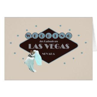 Gifta sig i det Las Vegas kortet
