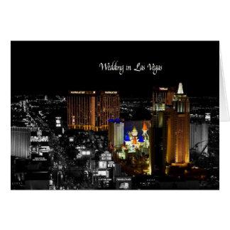 Gifta sig i det Las Vegas kortet Kort