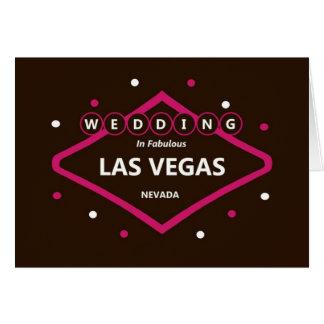 GIFTA SIG i det sagolika Las Vegas kortet