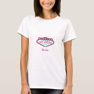 Gifta sig i Las Vegas BRUDT-tröja T Shirt