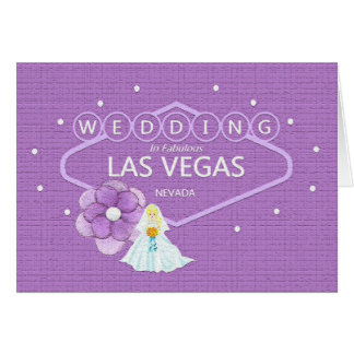 Gifta sig i Las Vegas med brudkortet, Craquelure s Hälsningskort
