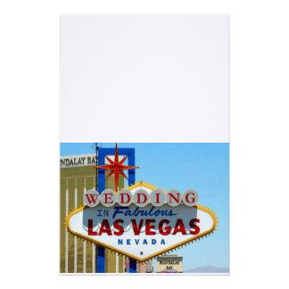 GIFTA SIG i sagolik Las Vegas brevpapper