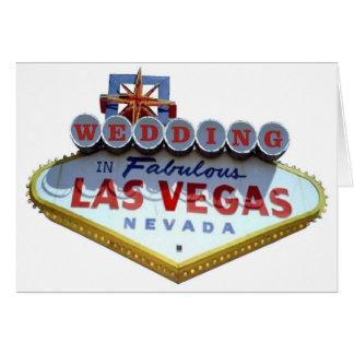 GIFTA SIG i sagolika Las Vegas kort