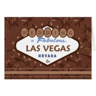 GIFTA SIG i sagolika Las Vegas kortchoklader! Hälsningskort