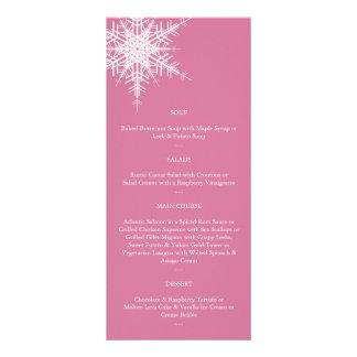 Gifta sig i vintermenyn (rosor) reklamkort