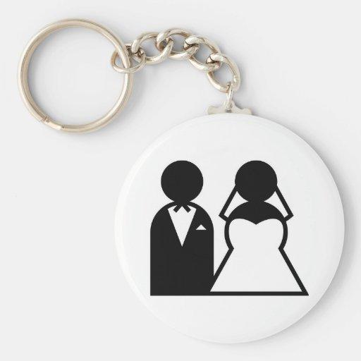 gifta sig nyckel ring