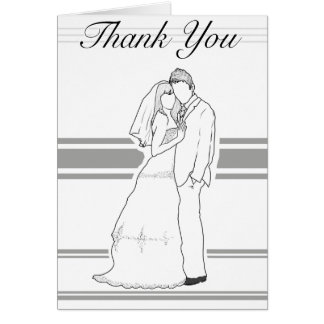 Gifta sig tillsammans tackkortet OBS kort