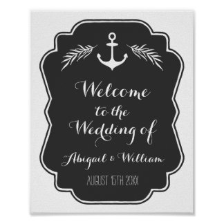 Gifta sig välkommen anpassningsbar underteckna den poster