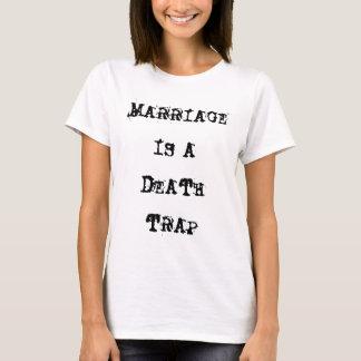 Giftermål är en T-tröja för dödfällavit Tee Shirts