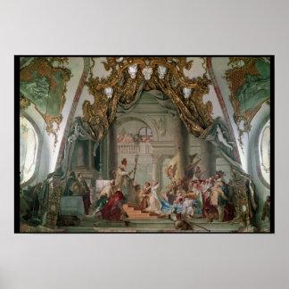 Giftermål av Frederick mig Barbarossa Poster