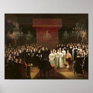 Giftermål av Frederick William Poster