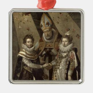 Giftermål av Louis XIII Julgransprydnad Metall