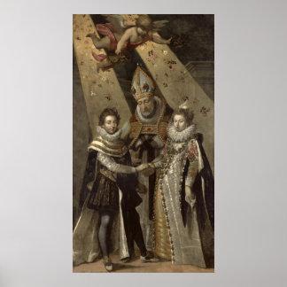 Giftermål av Louis XIII Poster