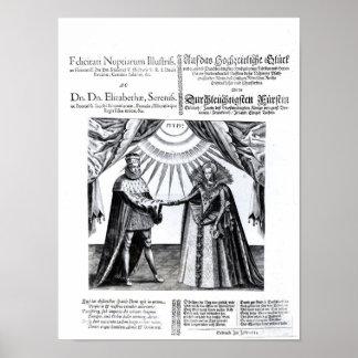 Giftermål av Princess Elizabeth Poster