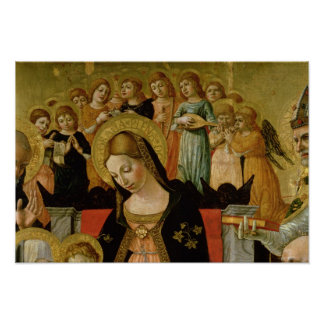 Giftermål av Sanktt Catherine av Siena Poster