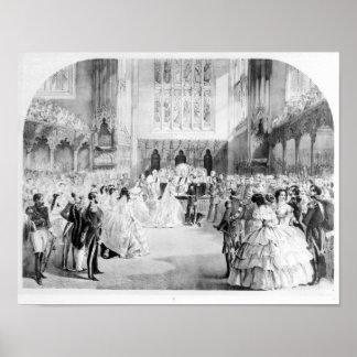 Giftermål av Victoria Poster