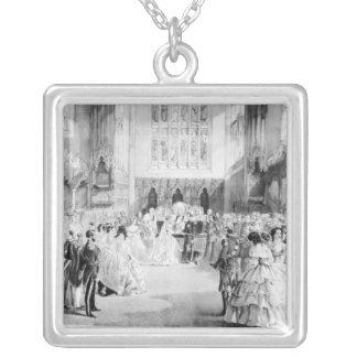 Giftermål av Victoria Silverpläterat Halsband