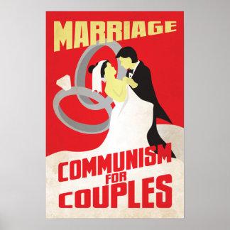 Giftermål: Kommunism för par Poster
