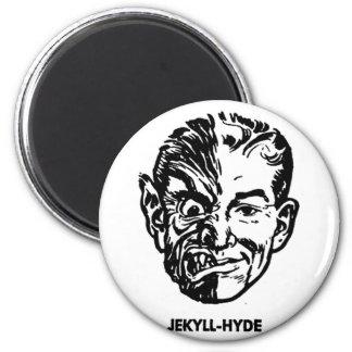 Gigantisk Dr. Jekyll & Herr Hyde för hötorgskonstv Magnet