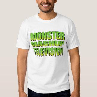 Gigantisk Mashup TVlogotyp Tshirts