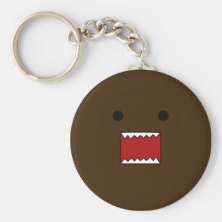 Gigantiska Keychain Rund Nyckelring