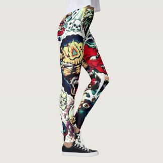 gigantiska krypandekvinna damasker leggings