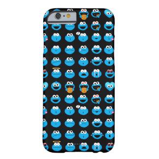 Gigantiskt Emoji för kaka mönster Barely There iPhone 6 Skal