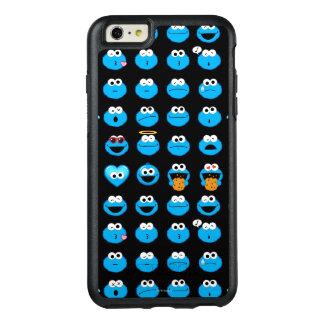Gigantiskt Emoji för kaka mönster OtterBox iPhone 6/6s Plus Skal