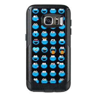 Gigantiskt Emoji för kaka mönster OtterBox Samsung Galaxy S7 Skal